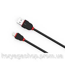Кабель USB Lightning Ldnio LS022M (2.1A) черный