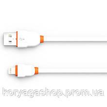 Кабель USB Lightning Ldnio LS02 2M (2.1A) White