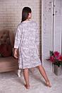 """Нереальный женский комплект халат+майка+шортики с кружевом """"Камелия"""", фото 6"""