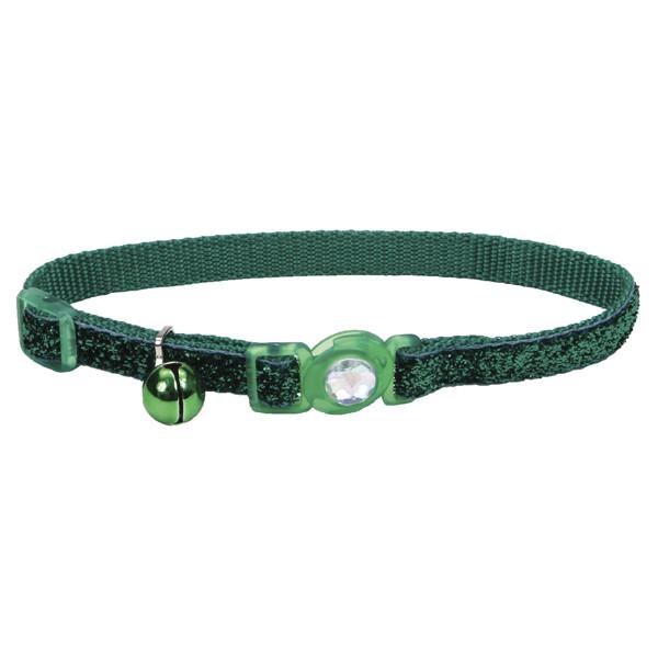 Безопасный ошейник для кошек Coastal Fashion Safe Cat зеленый 30 см