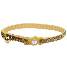Безпечний нашийник для кішок Coastal Fashion Safe Cat золотистий 30 см