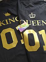 Парные футболки King_Queen