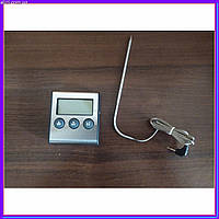 Термометр кулинарный щуп Digital Cooking Termometr TP-700 цифровой термометр с таймером