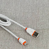 Кабель Ldnio LS02 MicroUSB 2M (2.1A) White, фото 2