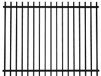 Забор из металла, 4020-2, 2500мм*2000мм