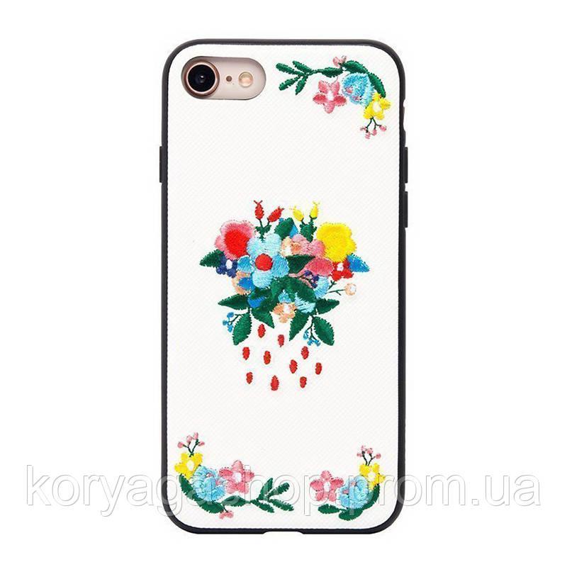 Чехол-накладка Hoco Summery flowers series iPhone 7/8 lilac