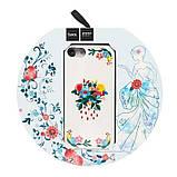 Чехол-накладка Hoco Summery flowers series iPhone 7/8 lilac, фото 3