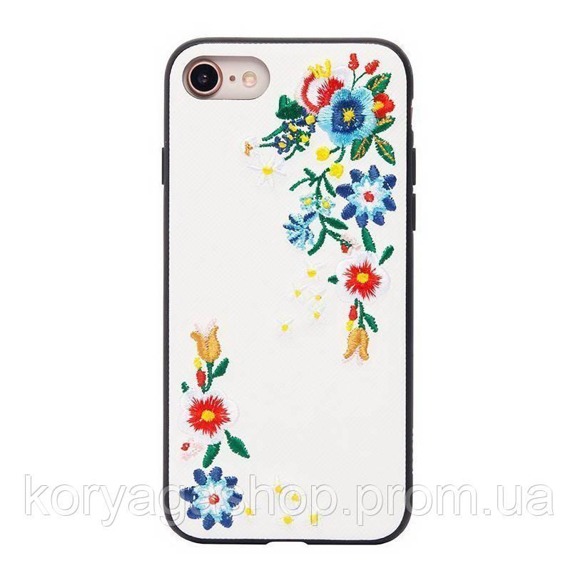 Чехол-накладка Hoco Summery flowers series iPhone 7/8 plum blossom