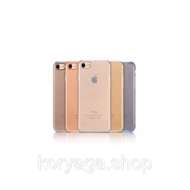 Чехол-накладка Remax Crystal TPU для iphone 7 Plus/8 Plus Black