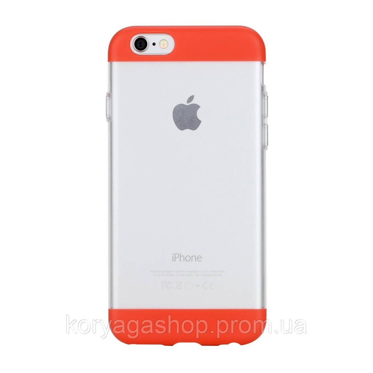 Панель Rock Aully Series для Apple iPhone 6/6S Red