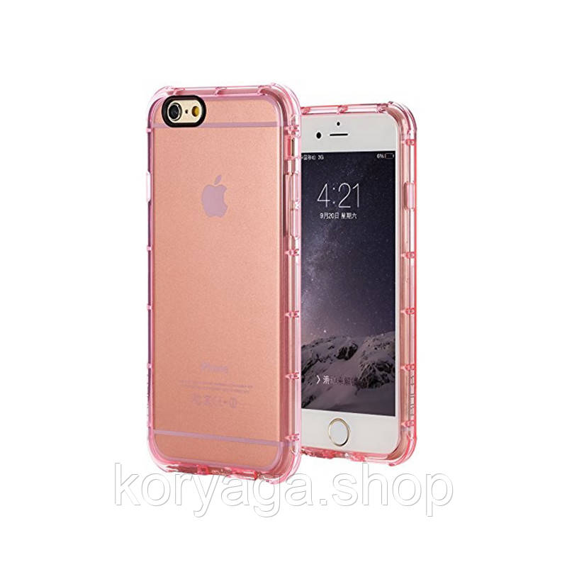 Панель Rock Fence Series Protection Case для Apple iPhone 6/6S Pink