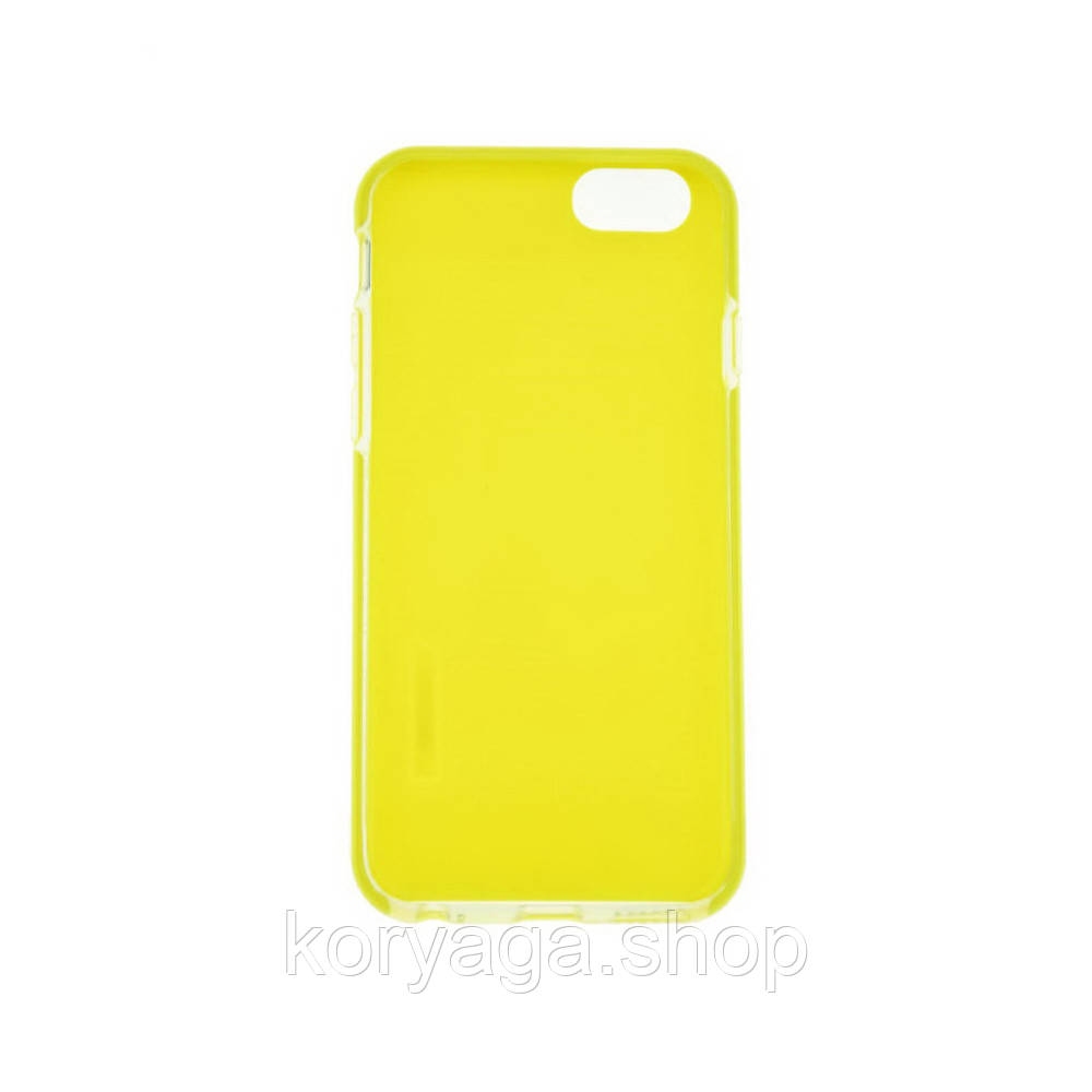 TPU чехол Rock Jello Series для Apple iPhone 6/6S Yellow