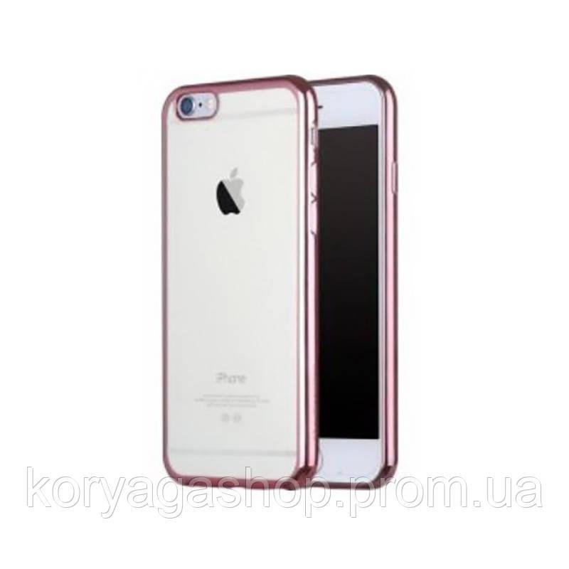 Чехол-накладка Seven-days plating series Apple iPhone 6/6S Pink