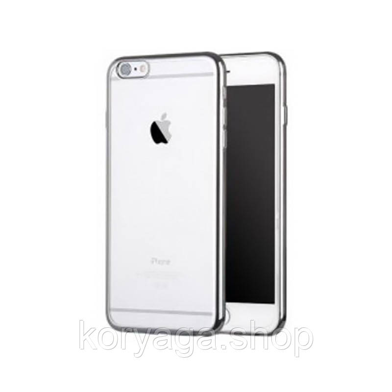 Чехол-накладка Seven-days plating series Apple iPhone 6/6S Silver