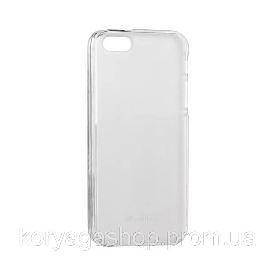Чехол-накладка TPU Melkco Special Edition PolyJacket для iPhone 6/6S Transparent