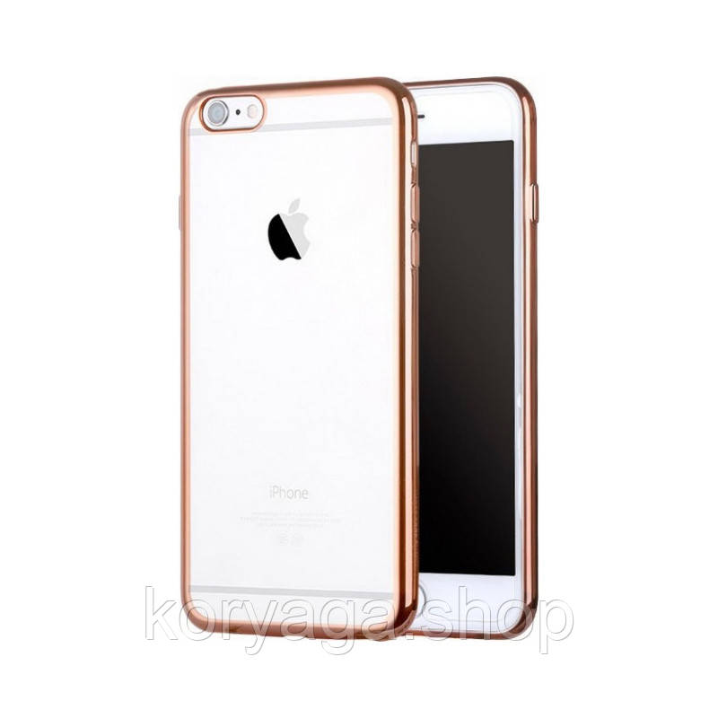 Чехол X-LEVEL Edge series для  iphone 6/6S Gold
