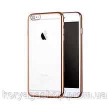 Чехол X-LEVEL Edge series для  iphone 6/6S Gold