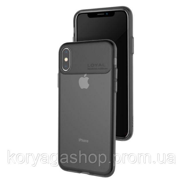 Чехол Hoco Water rhyme series protective case для Apple iPhone X/XS Black