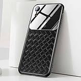 Чехол Baseus Glass and Weaving Case для Apple iPhone XR Black, фото 3