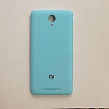 Задняя крышка Xiaomi Redmi Note 2 Blue