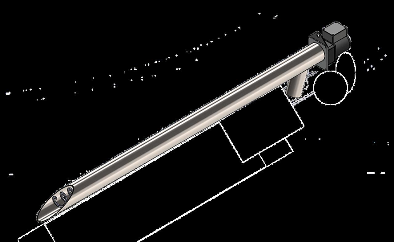 Шнек для подачи пеллет 3м