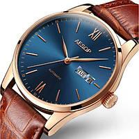 Стильные Мужские наручные часы Aesop Brown Limited