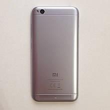 Задняя крышка для Xiaomi Redmi 5A Grey б.у с донора оригинал