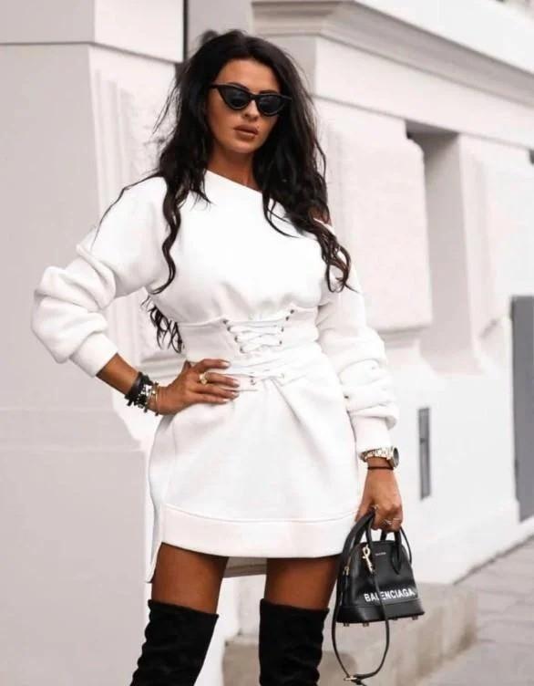 Стильное женское платье-туника 42-48рр.( 5 цветов)