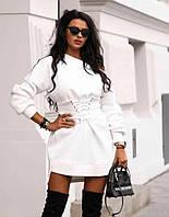 Стильное женское платье-туника 42-48рр.( 5 цветов), фото 1