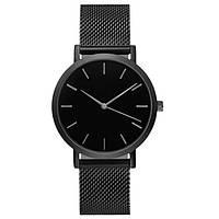 Стильные Женские наручные часы Geneva Field Black