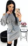 Стильное женское платье-туника 42-48рр.( 5 цветов), фото 5