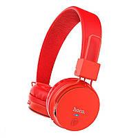 Беспроводные Bluetooth наушники Hoco W19 Easy move Red