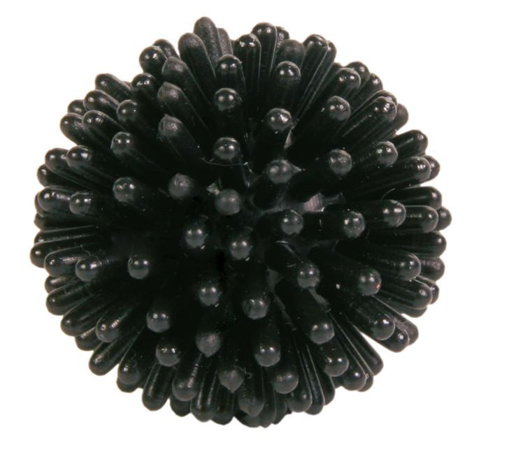 М'яч їжачок для кішок з латексу Trixie чорний 3 см