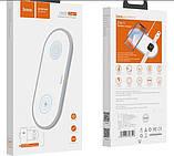 Беспроводное зарядное устройство 2в1 Hoco CW20 (для Apple Watch, iPhone) White, фото 3