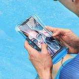 Водонепроницаемый чехол Baseus Safe Airbag Waterproof Case Blue, фото 3