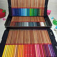 Карандаши цветные Марко для рисования 100 цветов Набор карандашей цветных