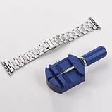 Ремешок Hoco WB03 Grand Steel для Apple Watch Series 1/2/3/4 (38/40mm) Silver, фото 2