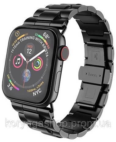 Ремешок Hoco WB03 Grand Steel для Apple Watch Series 1/2/3/4 (42/44mm) Black
