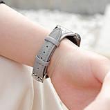 Kожаный ремешок Hoco WB05 Ocean wave для Apple Watch Series 1/2/3/4 (38/40mm) Gray, фото 2
