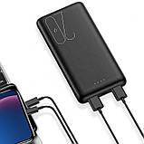 Power Bank Usams US-CD80 20000mAh (PB19 Dual USB) Black, фото 2