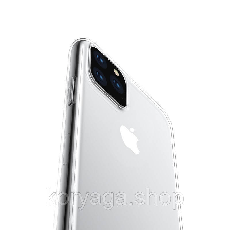 Чехол Hoco Light series TPU для Apple iPhone 11 Pro Max Transparent