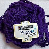 Пряжа Magna Schachenmayr Nomotta Германия, разные цвета, оранжевый Темно-фиолетовый