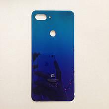 Задняя крышка для Xiaomi Mi 8 Lite Blue Оригинал с донора