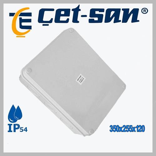 Распределительная коробка 350х255х120 Get-san IP54 (1шт.в уп.)