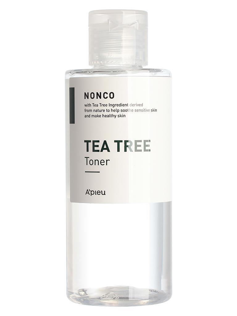Тонер для проблемной кожи лица с маслом чайного дерева A'pieu Nonco Tea Tree Toner 210 мл (8809581460492)