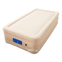 Надувной матрас-кровать Bestway 69030 Велюр 191х97х43см