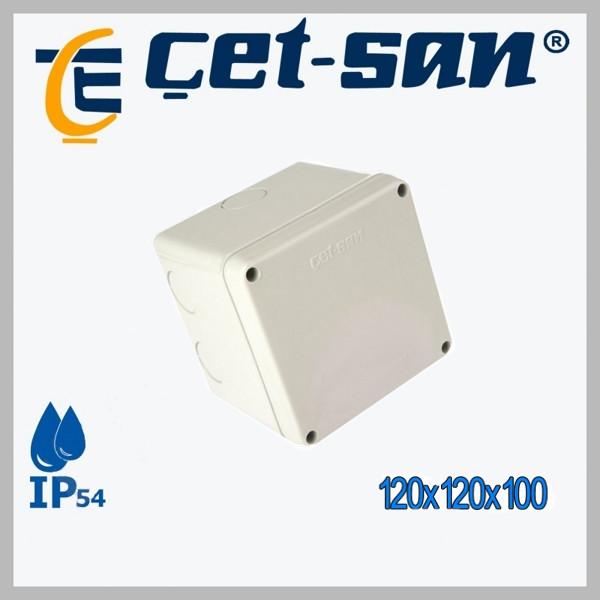 Распределительная коробка 120x120x100 Get-san IP54 (6 шт.в уп.)