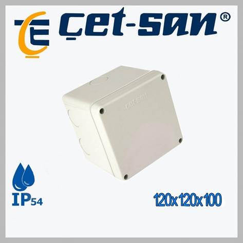 Распределительная коробка 120x120x100 Get-san IP54 (6 шт.в уп.), фото 2