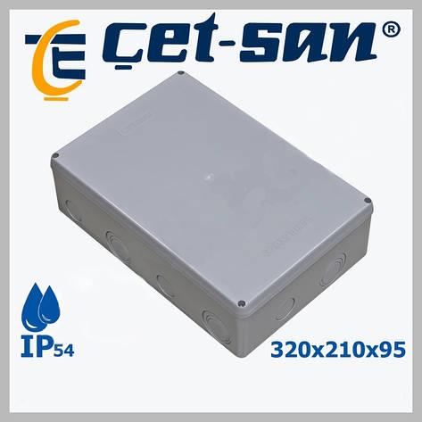 Распределительная коробка 320x210Х95 Get-san IP54, фото 2