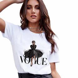Футболка Vogue 2020 art2 женская